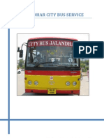 Jalandhar City Bus Service