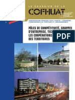 PÔLES DE COMPÉTITIVITÉ, GRAPPES D'ENTREPRISE, TECHNOPOLES - LES COOPÉRATIONS AU SERVICE DES TERRITOIRES