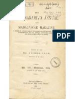 Antananarivo Annual 1889