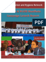 Report on WSH-Net and Manifesto Campaign Launch