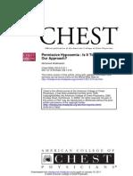 Chest 2006 Permissive Hypoxemia