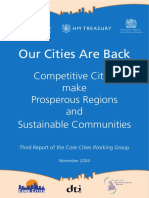 Our cities are back. Competitive cities make prosperous regions and sustainable communities (Eng) / Nuestras ciudades están de vuelta. Ciudades competitivas hacen regiones prósperas y comunidades sostenibles (Ing) / Gure hiriak bueltan daude. Hiri lehiakorrek eskualde oparoak eta komunitate jasangarriak sortzen dituzte (Ing)