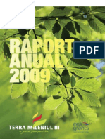 Raport anual 2009 TERRA Mileniul III