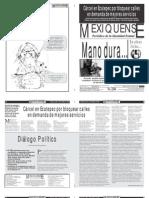 Versión impresa del periódico El mexiquense 5 Marzo 2012