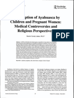 Beatriz Labate - Consumption of Ayahuasca by Children and Pregnant Women
