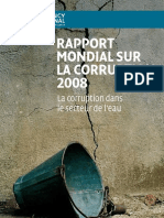 Rapportmondialcorruption2008 French