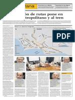 El Comercio - Problemas Metropolitano1 - Linea Metro1