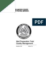 Mail Preparation Total Quality Management