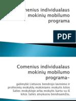 Comenius Individualaus mokinių mobilumo programa