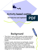60303732 Activity Based Costing