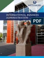 Bachelor of Business Administration Brochure