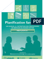 La Planification Familiale 9780978856304_fre