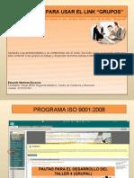 FORO GRUPAL ISO 9001-2008 DOCUMENTACIÓN SGC