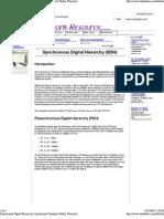 Reading1 Transmission PDH SDH