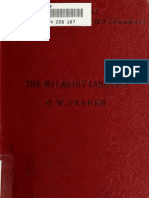 Parker, George Williams. 1883. A Concise Grammar of the Malagasy Language.