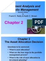 Chapter 2 - The Asset Allocation Decision