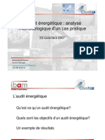 Audit Energetique IBAM