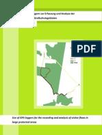 Einsatz von GPS-Loggern zur Erfassung und Analyse der Besucherströme in Großschutzgebieten
