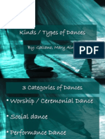 Kinds of Dance