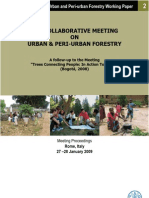Fao Meeting on Urban & Peri-urban Forestry