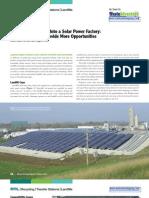 Turning Landfill Solar