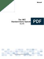 Standard Query Operators