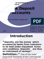 Bank Deposit Accounts Final