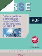 Estudio 2011 Cultura, Políticas y Prácticas de Responsabilidad Social de las empresas del IBEX35
