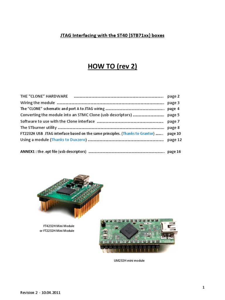 Howto Jtag Interface Stmclt Clone Rev2 | Electrical Connector
