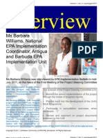 EPA Implementation Bulletin Interview