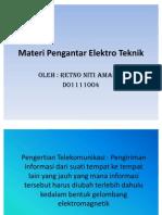Materi Pengantar Elektro Teknik