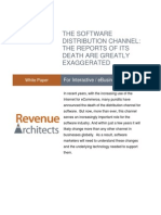 Revenue Architects Software Distribution Channel 2012