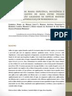 Comparação de massa específica, suculência e conteúdo relatico de água entre folhas galhadas e não galhadas na espécie Matayba guianensis (Sapindaceae) em Morrinhos_GO