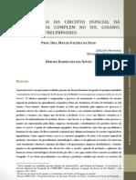 Consolidação do circuito espacial da produção da complem no sul goiano resultados preliminares