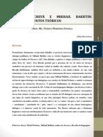 Michel Pêcheux e Mikhail Bakhtin atravessamento teóricos