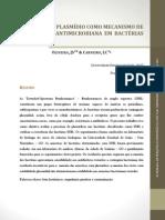 Presença de plasmídio como mecanismo de resistência antimicrobiana em bactérias ESBL