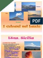 vulcani nel lazio