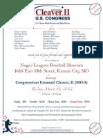 E-Invite Rep. Cleaver Reception 031312