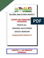 27942145 Cours de Grammaire Le Groupe Nominal