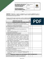 GCF-FO-315-006 Lista chequeo prevencion infeccion cateter urinario