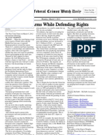 March 5, 2012 - The Federal Crimes Watch Daily