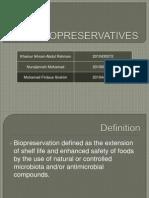Bio Preservatives