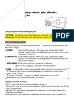 CP-RX80 User Manual Portuguese