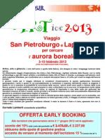 Programma Aurora Early Booking