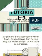 Sains Politik - Proses Pilihanraya Di Malaysia dan Amerika