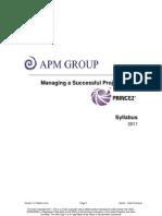PRINCE2 Syllabus v1.2
