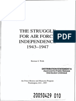 Struggle for Air Force Independence