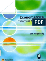 Econometrics.theory and Applications With EViews
