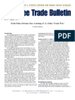 Trade Policy Priority One