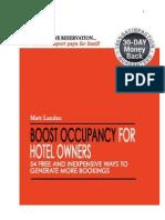 Hotel Marketing Report